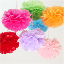6 Inch 15CM Tissue Paper Pom Poms Flower Balls Wedding Birthday Party Decoration