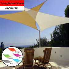 Sun Shade Triangle Sail Water Canopy Patio Awning Garden Cover Awning UV Block