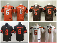 Baker Mayfield #6 Cleveland Browns Stitched Mens Jersey S XXXL All Colors