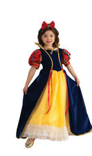 Rubies Enchanted Princess Snow White Deluxe Yellow Polyester Gown Costume 881373