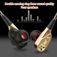 HIFI In-Ear Super Bass Stereo Earphone Earbuds Gaming Headphone Headset w/Mic CY