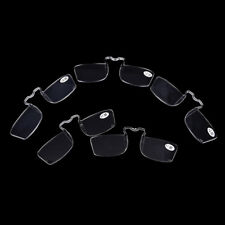 Clear Mini Nose Resting Pocket Reading Glasses Clip Strength 1.01.52.02.53.0CHP