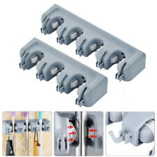 1Pc Mop and Brush Hanger Holder Wall Mounted Garden Tools Organizer 33