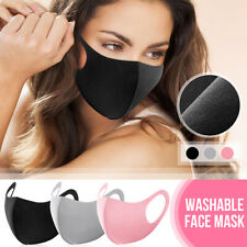 Face Mouth Nose Cover Shield Breathable Anti Dust Protection Safety Reusable