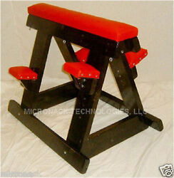 Dungeon Furniture Wood and VINYL Horse with Pads - NEW - made in USA