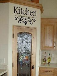 Kitchen Wall Quote Vinyl Decal Lettering Decor Sticky $29.94