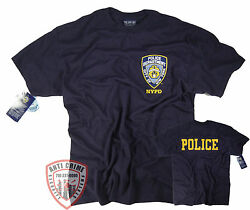 NYPD T-Shirt Officially Licensed by The New York City Police Department $14.99