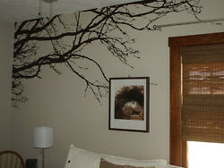 Large Wall Tree Top Nursery Decal Branches Wall Art Sticker Choose size color $39.99