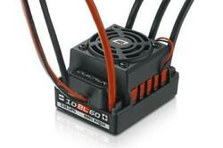 Hobbywing QUICRUN-WP-10BL60 60A Waterproof Brushless ESC For 1/10 RC Car Buggy $44.98