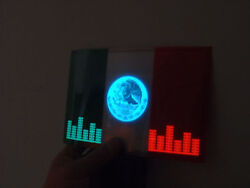 SOUND Activated MEXICO MEXICAN FLAG CAR WINDOW SIGN LED Light FLASHING $17.98
