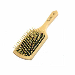 Large Massage Comb Best Bristles Wooden Hair Brush Health Comb Freeshipping