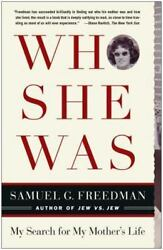 Who She Was by Samuel G. Freedman ( Paperback 2005) ISBN 9-780743-285117