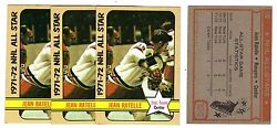 1X JEAN RATELLE 1972 73 Topps #130 EXMT All Star Lots Available $0.99