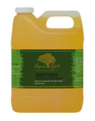 32 Oz Liquid Gold Mustard Seed Oil 100% Pure amp; Organic for Skin Hair and Health $26.99