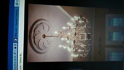 Chandelier Brass Gorgeous Very Expensive 3 tier 28 lights 4ft x 4ft. $500.00