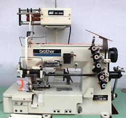 BROTHER FD4-B272 Coverstitch 5-Thread Metering Device Industrial Sewing Machine