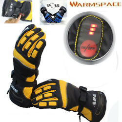 Waterproof Rechargeable Battery Powered Duplex Heated Winter Warmer Gloves