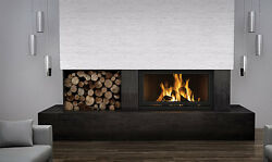 Napoleon NZ7000 Wood Burning Fireplace High Country Clean Face Linear Slide Door