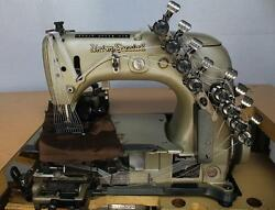 UNION SPECIAL 54200 J 12-Needle 24-Thread Chain Stitch Industrial Sewing Machine