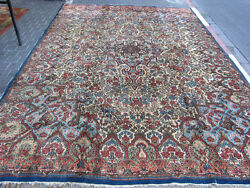 ANTIQUE PERSIAN CARPET RUG  HAND WOVEN 380x272-cm  149.6x107.0-inches