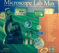 Microscope Lab Max w Instructional CD by Science Tech new