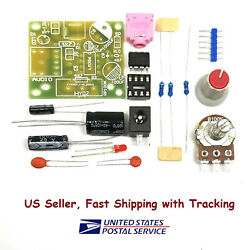 LM386 MINI Mono Amplifier DIY Kit US Seller Fast Shipping with Tracking $3.45
