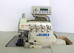 JUKI MO-6714S Electronic 2-Needle 4-Thread Serger Industrial Sewing Machine New