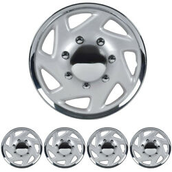 4 PC Hubcaps for Ford E-150 250 350 Truck Van 16