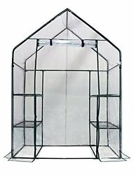 NEW Happy Planter Walk in Portable Greenhouse Cover 56 x 29 x 77 FREE SHIPPING