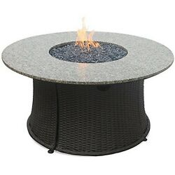 Endless Summer GAD1375SP LP Gas Outdoor Firebowl with Granite Mantel- Bronze NEW