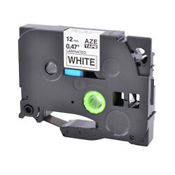 TZe231 TZ231 TZ 231 Black on White Label Tape For Brother P Touch PT H110 12mm $2.99
