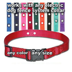 Underground Electric Dog Fence Replacement Collar NEW $10.49