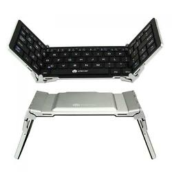 iClever Tri-folding Magnetic Control Bluetooth Keyboard for Windows IOS Android $22.99