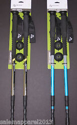 NEW ALPINE DESIGN MEN#x27;S amp; WOMEN#x27;S ALUMINUM ANTI SHOCK TREKKING HIKING POLES $29.99