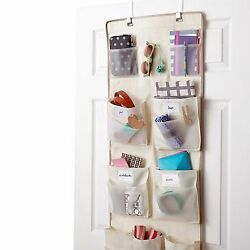 Real Simple 29-Pocket Over The Door Multipurpose Household Storage Organizer NEW