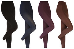 Heat Holders - Womens Thick Winter Warm Soft Brushed Thermal Leggings 4 Colors $11.99