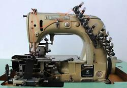 UNION SPECIAL 54200 E4  4-Needle 8-Thread Chainstitch Industrial Sewing Machine