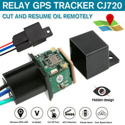 GPS Car Tracker Real Time Device Locator Remote Control Anti theft Hidden 10 40V $21.98