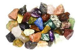 2 lbs Wholesale Indian Rough Stones Tumbling Tumbler Rocks Reiki Wicca $14.95