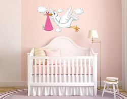 Stork Wall Decal Stickers $29.95