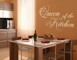 Queen of the Kitchen Wall Decal Stickers $19.95