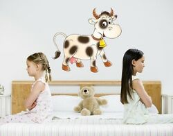 Little Cow Wall Decal Stickers $29.95