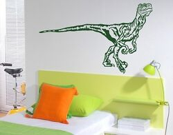 Velociraptor Highest Quality Wall Decal Stickers $19.95