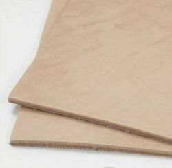 SLC Natural Veg Tan Cowhide Tooling Leather Pre Cut Project Piece $26.40
