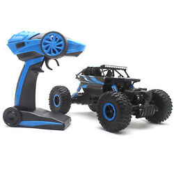 4WD RC Monster Truck Off Road Vehicle 2.4G Remote Control Buggy Crawler Car Blue $24.98