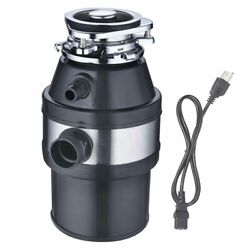 1 2HP 2600 RPM Continuous Feed Household Garbage Disposer Kitchen Waste Disposal $71.90