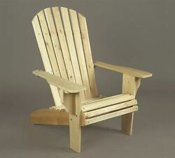 Deluxe Adirondack Chair By Rustic Natural Cedar Furniture Co.