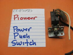 PIONEER POWER PUSH SWITCH CT F1050 STEREO CASSETTE DECK $21.95