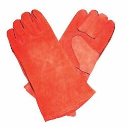 Fireplace Red Gloves - Per Pair