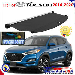 Fit For 2016 -2020 Hyundai Tucson TRUNK BLACK OE STYLE RETRACTABLE CARGO COVER